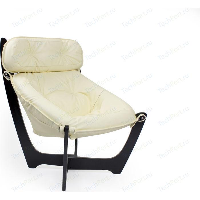 Кресло Мебель Импэкс МИ модель 11 венге (каркас венге обивка Dundi 112)