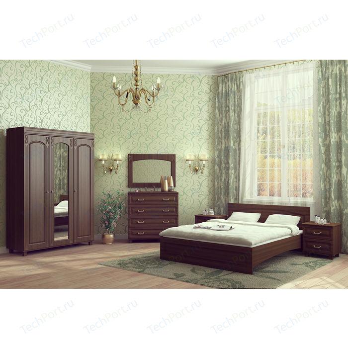 цена на Спальня Compass Элизабет 1 орех темный