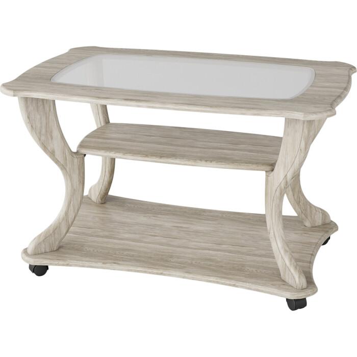 Стол журнальный Калифорния мебель Маэстро СЖС-02 со стеклом дуб стол журнальный калифорния мебель юпитер со стеклом дуб сонома