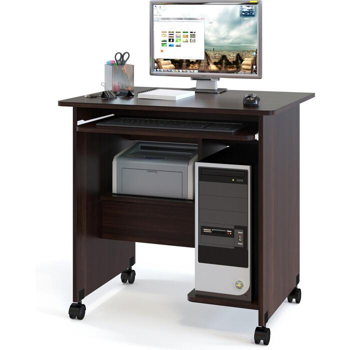 Стол компьютерный СОКОЛ КСТ-10.1 венге
