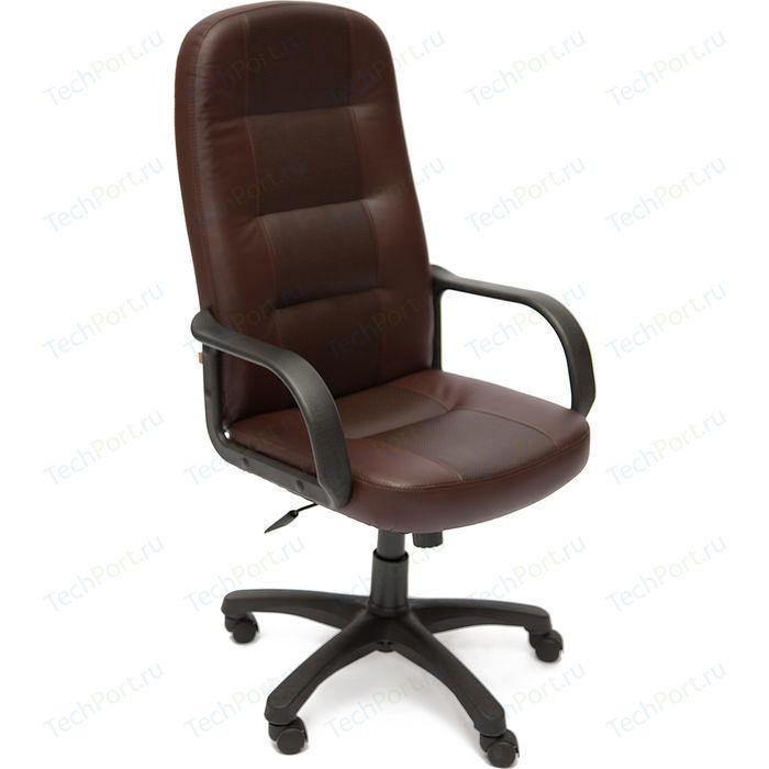 Кресло офисное TetChair DEVON кожзам 36-36 коричневый