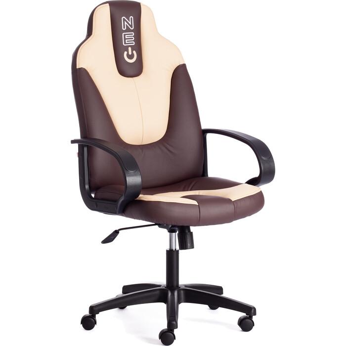 Кресло офисное TetChair NEO (1) 36-36/36-34 коричневый/бежевый