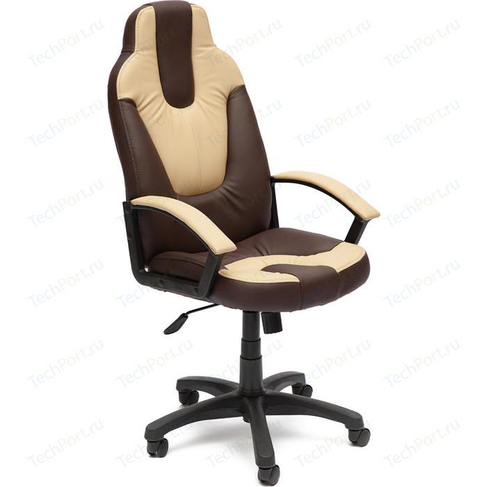 Кресло офисное TetChair NEO (2) 36-36/36-34 коричневый/бежевый
