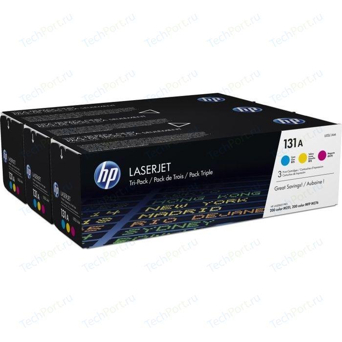 Картридж HP №131A CYM Tri-Pack (U0SL1AM)
