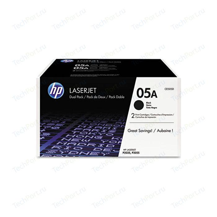 Картридж HP №05A Black (CE505D)