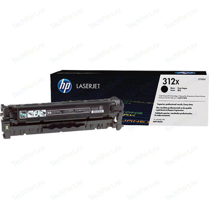 Картридж HP №312X Black (CF380X)