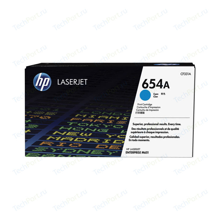Картридж HP №654A Cyan (CF331A)