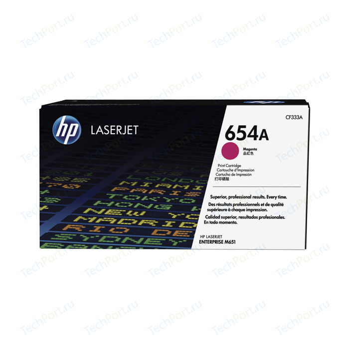 Картридж HP №654A Magenta (CF333A)