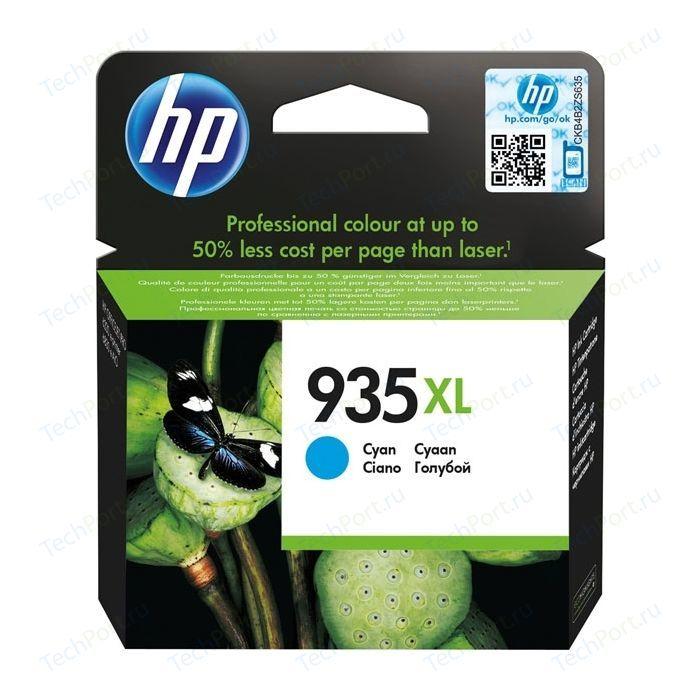 Картридж HP №935XL Cyan (C2P24AE) картридж струйный hp c9391ae n 88xl cyan with vivera ink