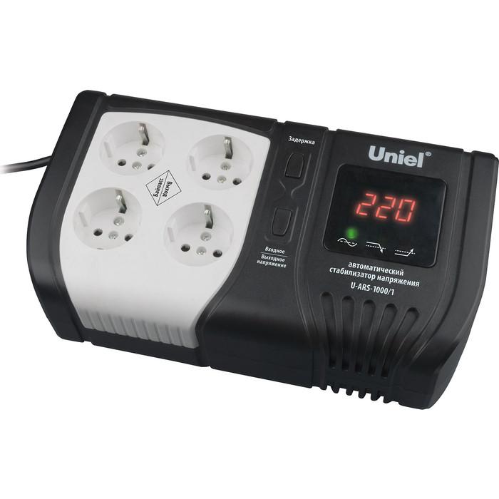 Стабилизатор напряжения Uniel U-ARS-1000/1