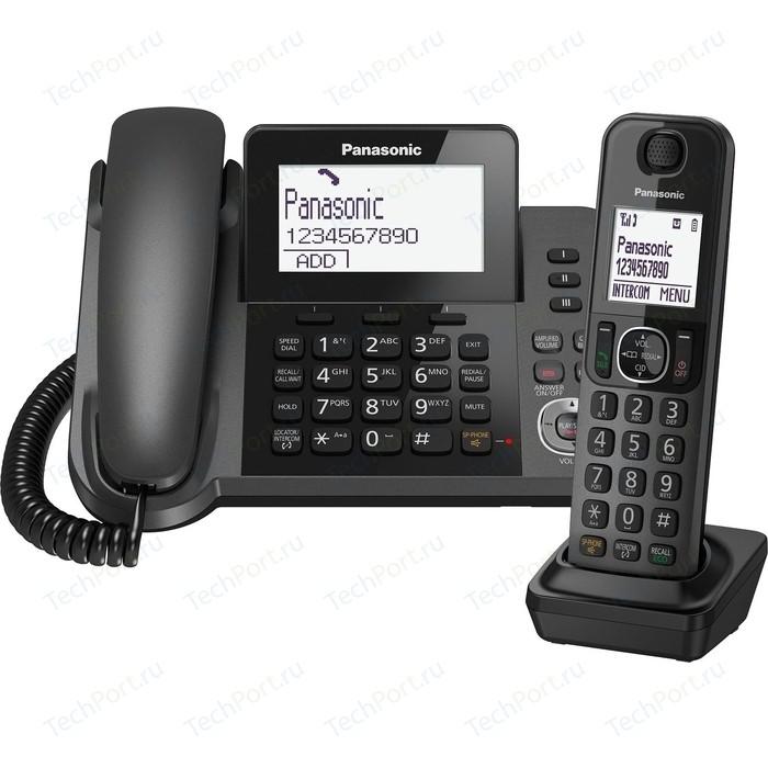Радиотелефон Panasonic KX-TGF310RUM радиотелефон panasonic kx tg1611