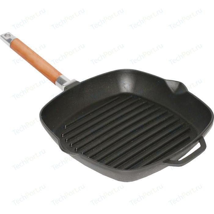 Сковорода-гриль Биол 26x26 см (1026) сковорода гриль tima 26x26 см шеф 2614п