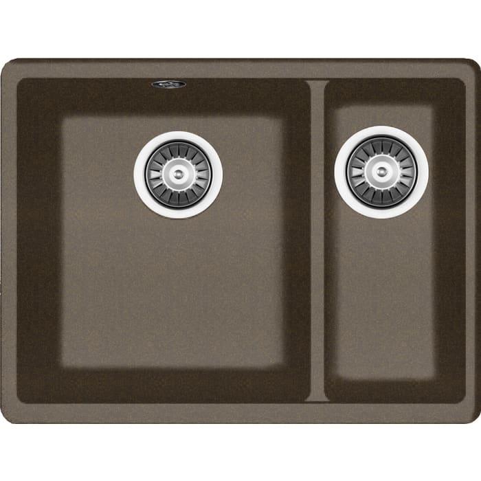Кухонная мойка Florentina Вега 335/160 коричневый Fg (22.325.D0510.105)