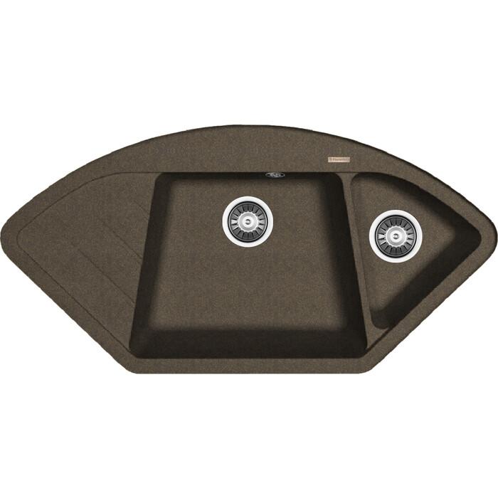 Кухонная мойка Florentina Веста коричневый Fg (20.285.E1005.105)