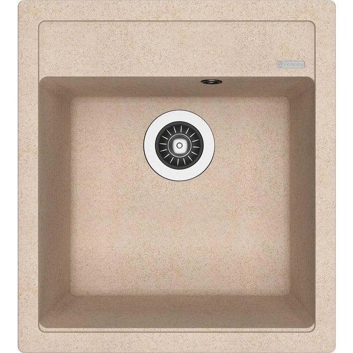 Кухонная мойка Florentina Липси 460 песочный Fg (20.280.B0460.107)