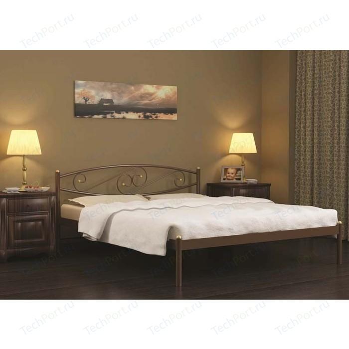 Кровать Стиллмет Волна черный 160х200