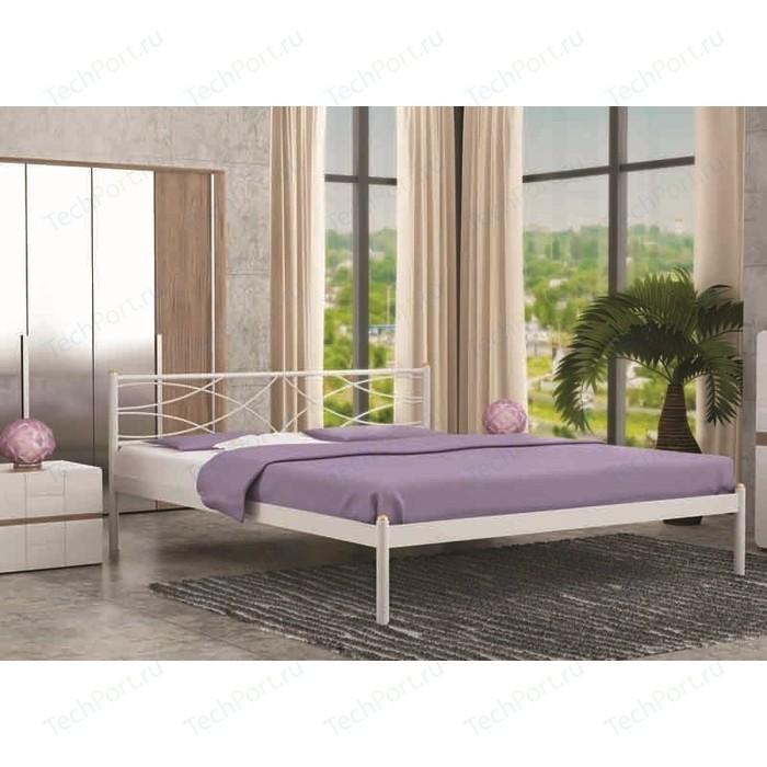 Кровать Стиллмет Экзотика белый 160х200