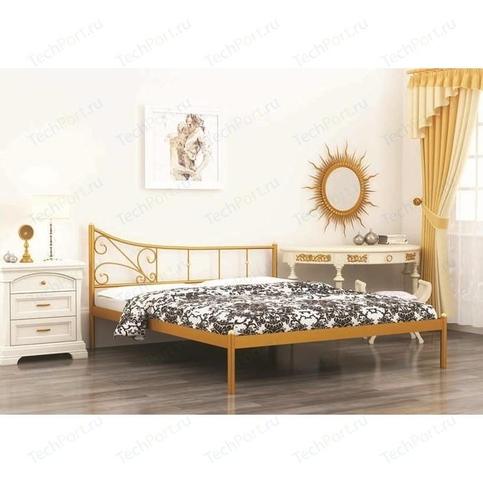 Фото - Кровать Стиллмет Лилия черный 140х200 кровать стиллмет эко плюс бежевый 140х200