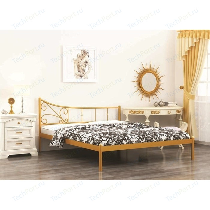 Кровать Стиллмет Лилия черный 180х200