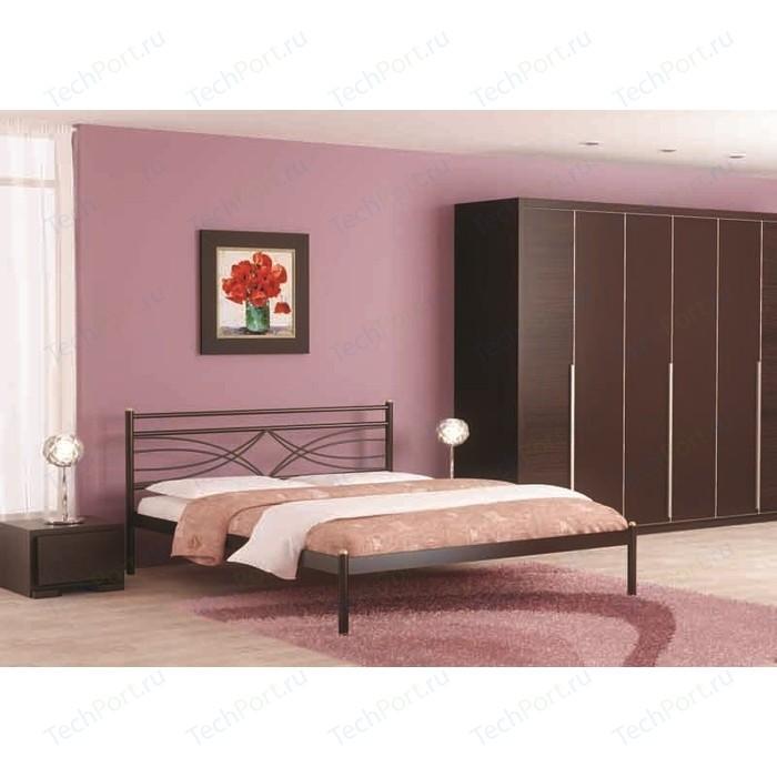 Фото - Кровать Стиллмет Мираж черный 140х200 кровать стиллмет эко плюс бежевый 140х200