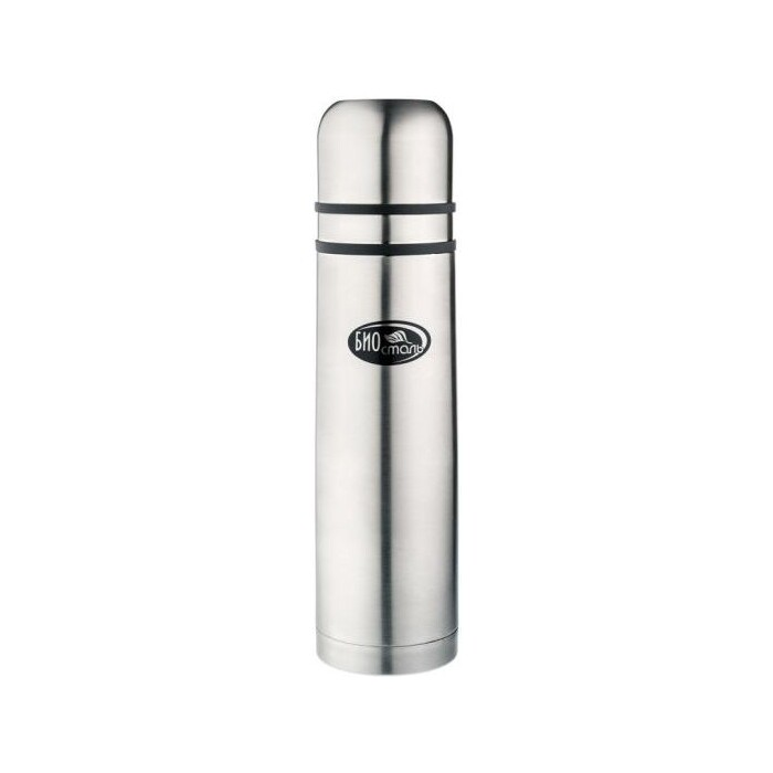 Термос 1 л Biostal с узким горлом (NB-1000K2) термос лайма с узким горлом 0 5 л нержавеющая сталь хаки 601409