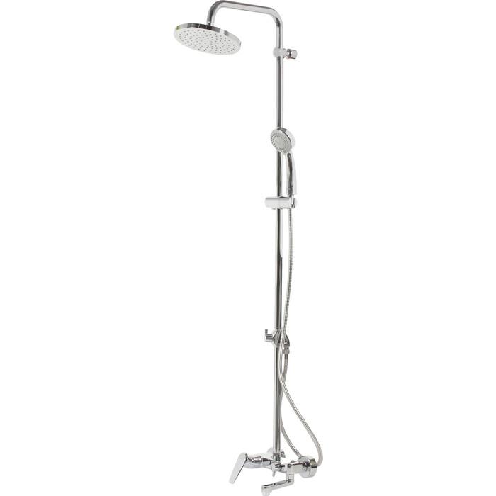 Душевая система Vidima Баланс душевой комплект, верхний душ d200 мм (BA270AA)