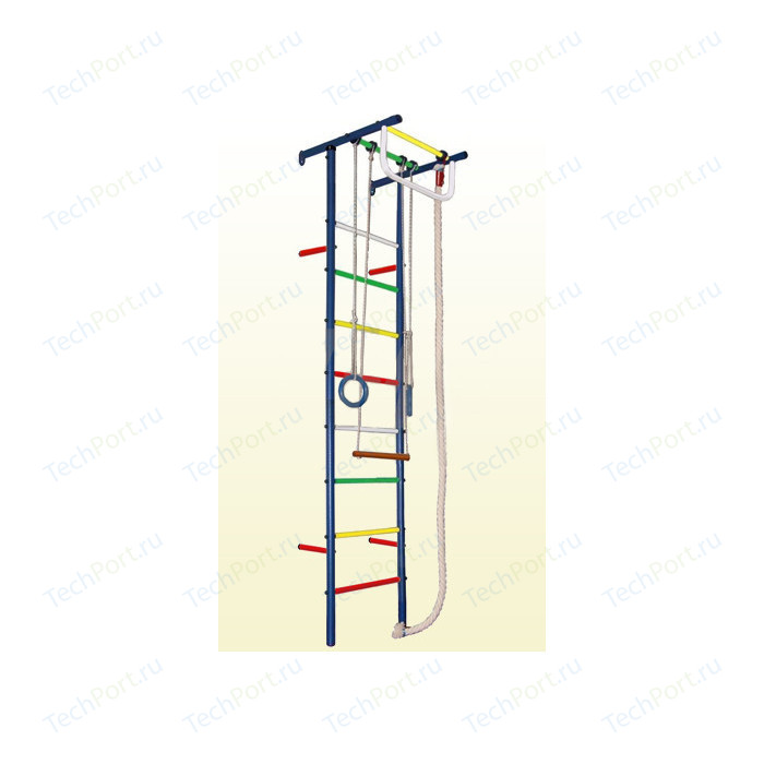 Детский спортивный комплекс Вертикаль Юнга 3М (ПВХ-покрытие)