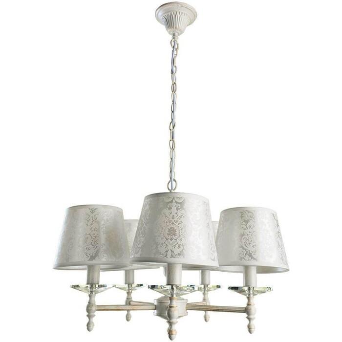 Люстра Arte Lamp A9566LM-5WG люстра подвесная на цепи arte lamp a6114lm 5wg