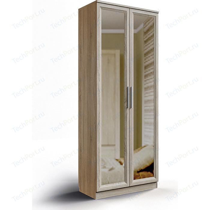 Шкаф без ящиков с зеркалом СКАНД-МЕБЕЛЬ Шервуд Ш-11