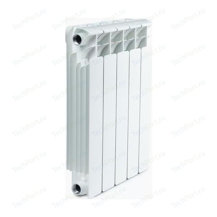 Радиатор отопления RIFAR BASE 500 5 секций биметаллический боковое подключение (RB50005)