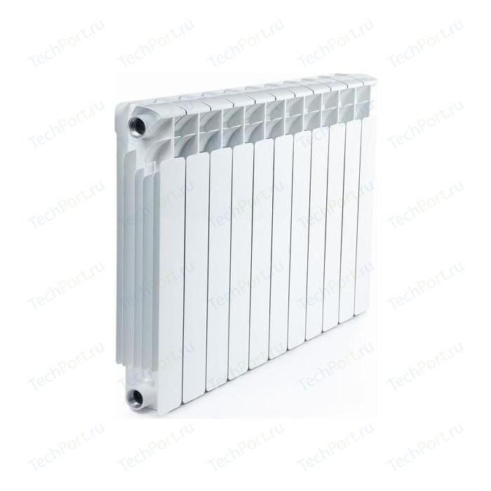 Радиатор отопления RIFAR BASE 500 11 секций биметаллический боковое подключение (RB50011) биметаллический радиатор rifar рифар b 500 нп 10 сек лев кол во секций 10 мощность вт 2040 подключение левое