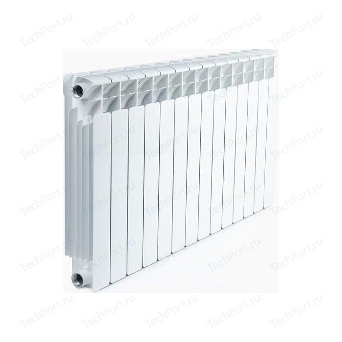 Радиатор отопления RIFAR BASE 500 14 секций биметаллический боковое подключение (RB50014) биметаллический радиатор rifar рифар b 500 нп 10 сек лев кол во секций 10 мощность вт 2040 подключение левое