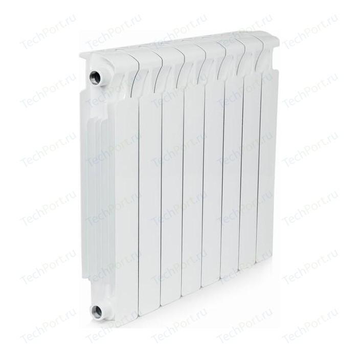 Радиатор отопления RIFAR MONOLIT 500 8 секций биметаллический боковое подключение (RM50008)