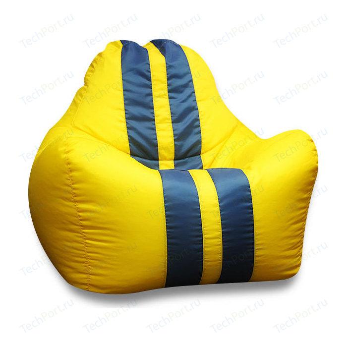 Кресло-мешок DreamBag Спорт желтое