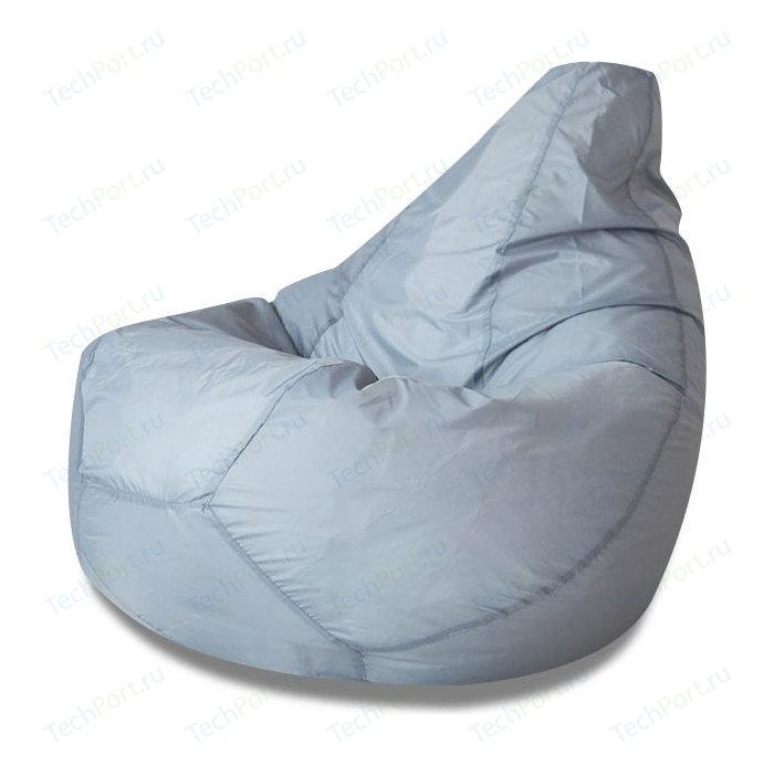 Кресло-мешок Bean-bag Серый оксфорд XL