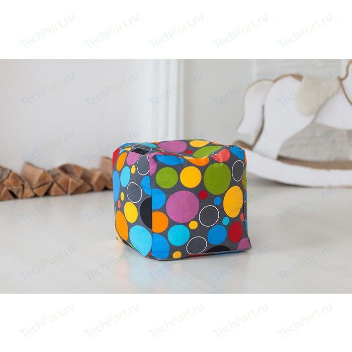 Пуф Bean-bag Кубик - пузырьки