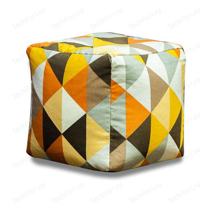 Пуф Bean-bag Кубик - янтарь