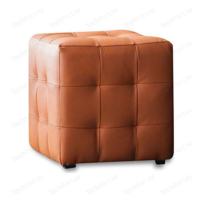 Пуф DreamBag Лотос оранжевая экокожа