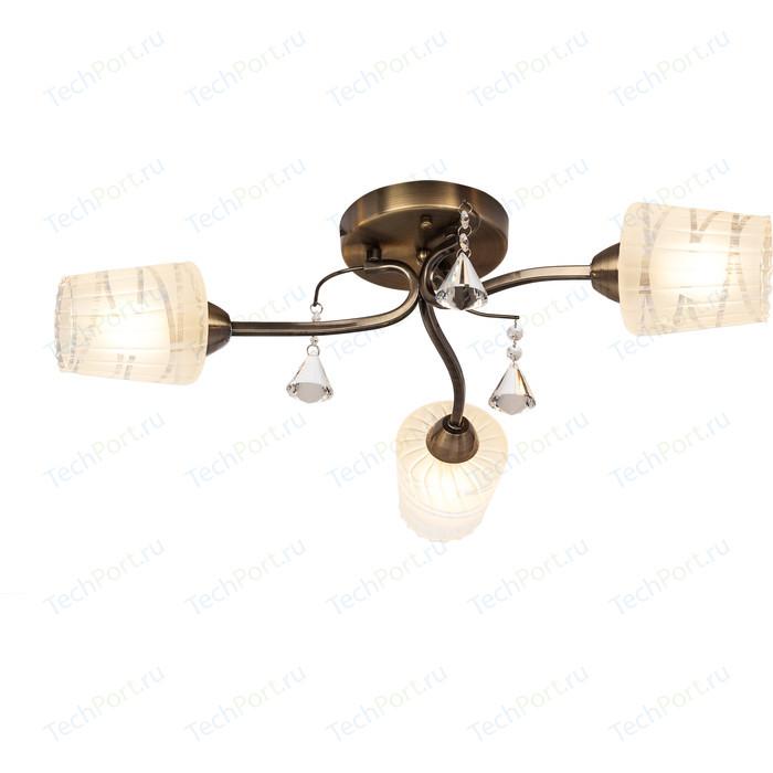 Потолочная люстра Silver Light Levity 208.53.3