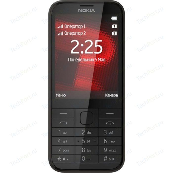 Мобильный телефон Nokia 225 DS Black мобильный телефон nokia 215 ds 16qenb01a01 black