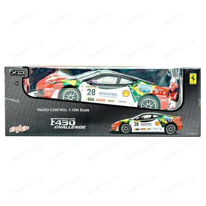 Машинка XQ Ferrari F430 Brazil Challenge 1:12, со светом (XQ074)
