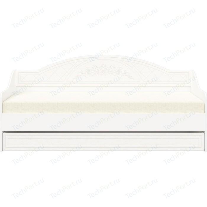 Кровать Детская Compass СО-25 Премум белый струк ясень патина