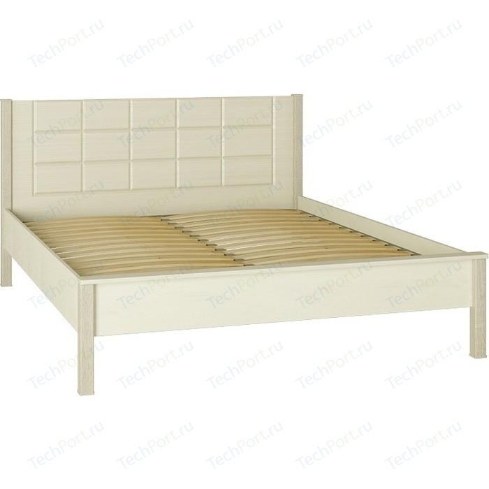 Кровать Compass ИЗ-01 двуспальная 160х200 береза снежная клен