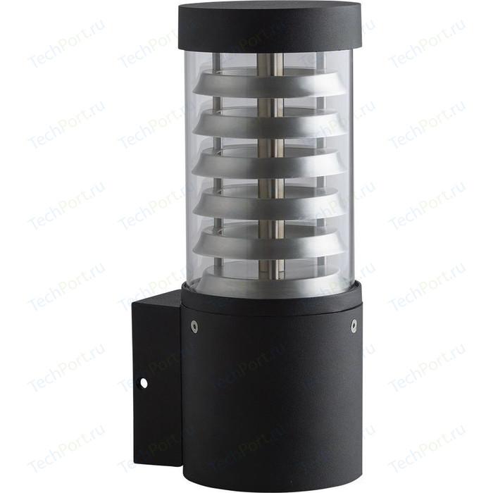 Уличный настенный светильник DeMarkt 807021701 уличный настенный светодиодный светильник demarkt 807022801