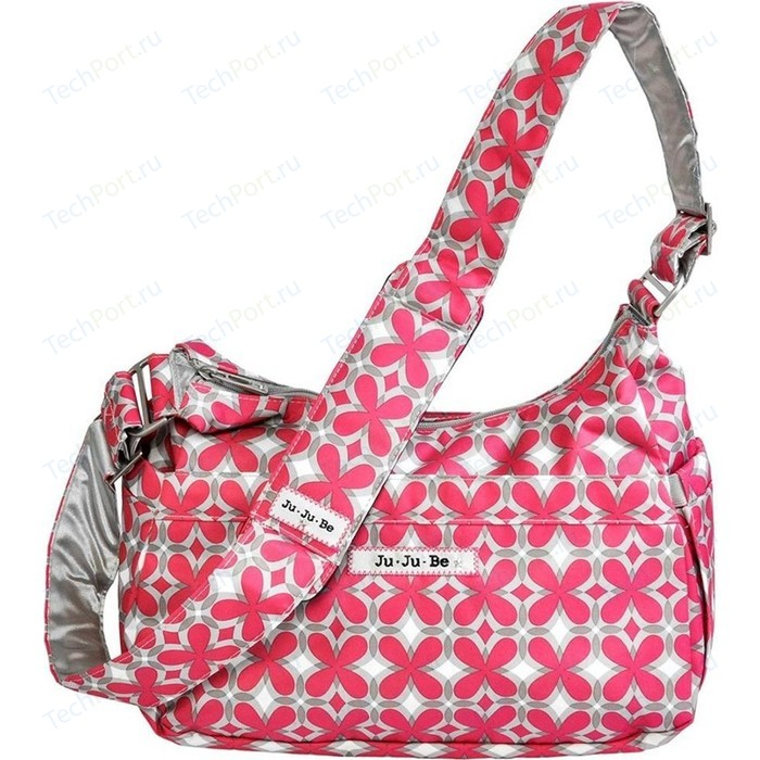 цена на Сумка для мамы Ju-Ju-Be HoboBe pink pinwheels (12HB01A-8737)