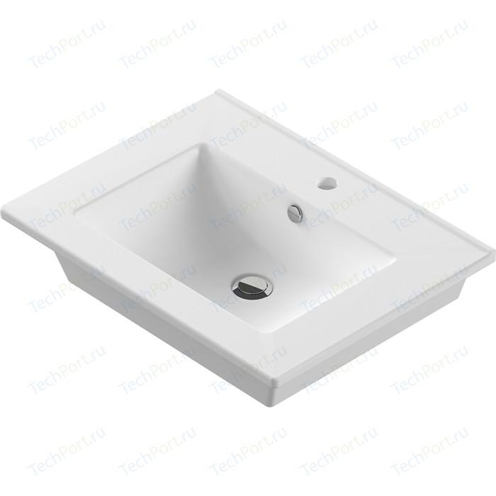 Раковина мебельная Sanita luxe Quadro 60 белый (QDR60SLWB01)