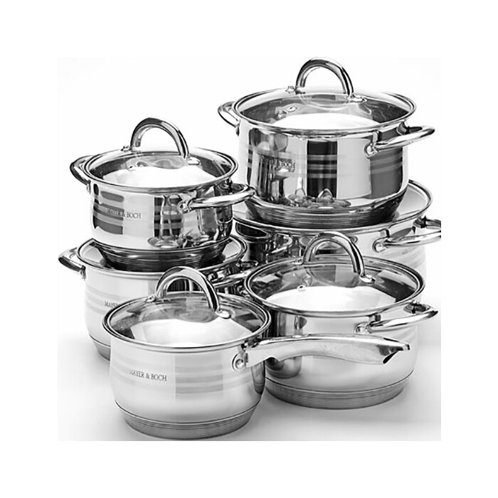 Набор посуды 12 предметов Mayer and Boch (25155)