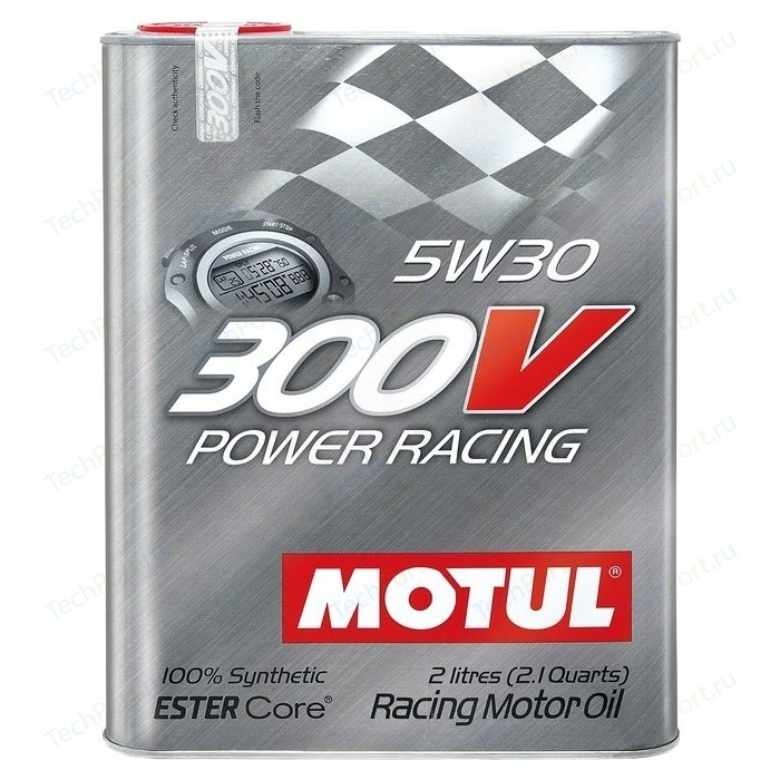 Моторное масло MOTUL 300V Power Racing 5W-30 2 л