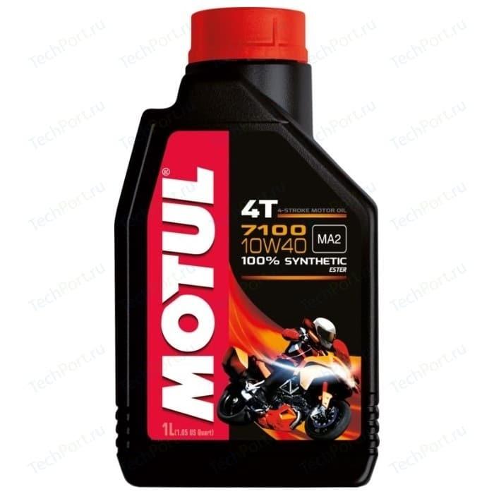 Моторное масло MOTUL 7100 4T 10W-40 1 л 104091