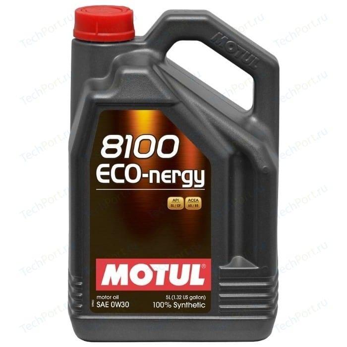 Моторное масло MOTUL 8100 Eco-nergy 0W-30 5 л